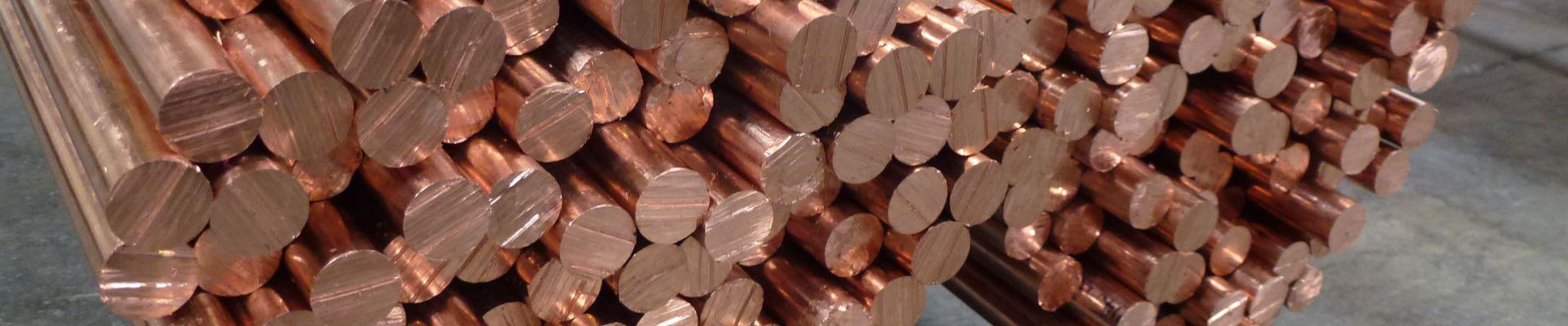 Barre de cuivre