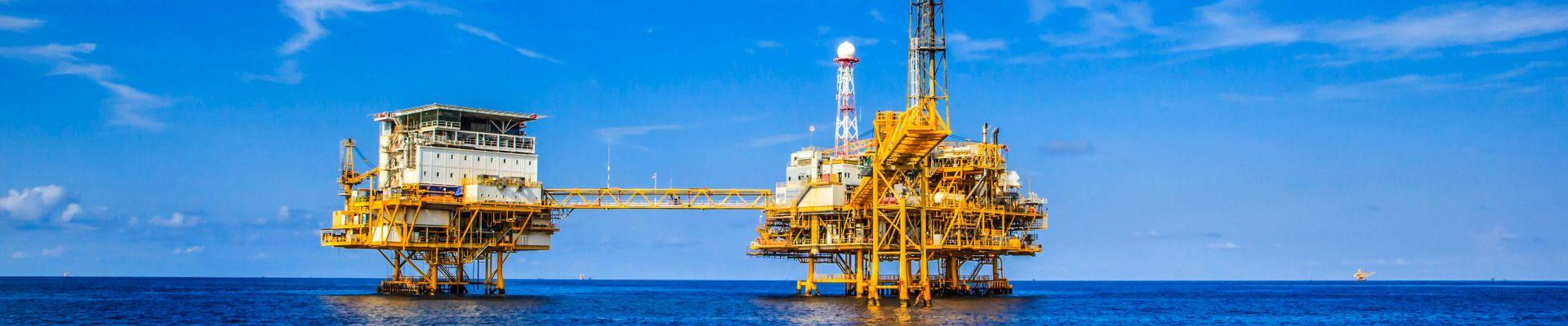 Offshore-Ölplattform