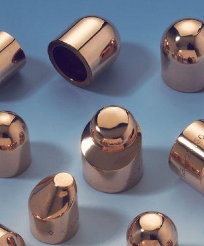 Spot welding electrodes